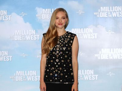 Perfect look: Amanda Seyfried