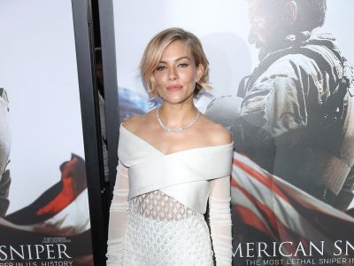 Perfect look: Sienna Miller w bieli