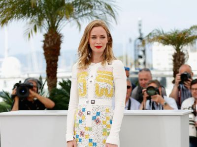 Perfect look: kolorowa Emily Blunt