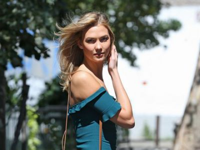 Perfect look: letnia Karlie Kloss