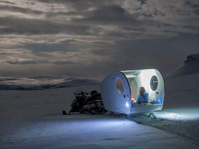 Relaks: saniami po Finlandii