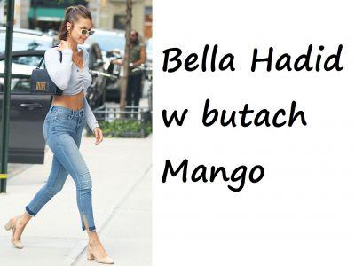 Stylizacje gwiazd: Bella Hadid w butach Mango