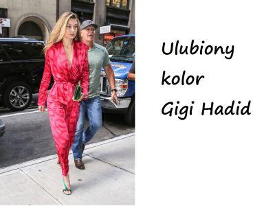 Różowa Gigi Hadid