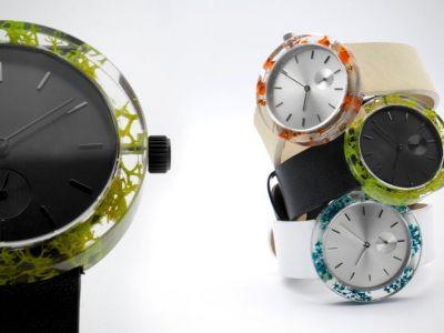 Design: naturalny zegarek