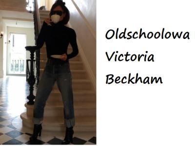 Stylizacje gwiazd: casualowa Victoria Beckham