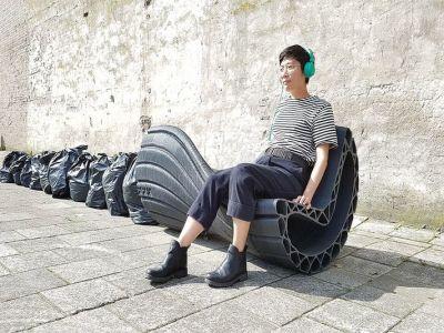 Eko trendy: ławki z odpadów