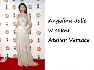 Styl gwiazd: Angelina Jolie jak bogini grecka