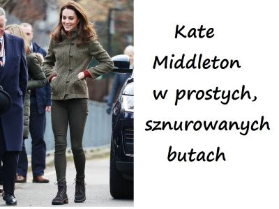 Modne buty Kate Middleton