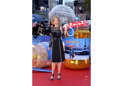 Perfect look: Nicole Kidman w sukience Prada
