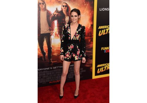 Perfect look: Kristen Stewart w kombinezonie